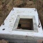 Монтаж бетонного погреба Кузьмич 8 м3